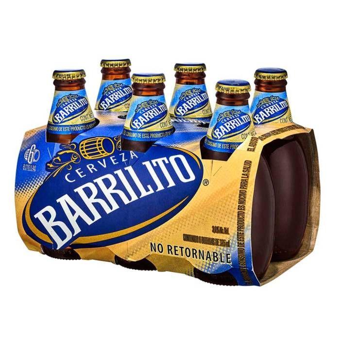 Walmart: Six de Barrilito en botella de 325 ml (Mismo precio en Bodega Aurrera y Superama)