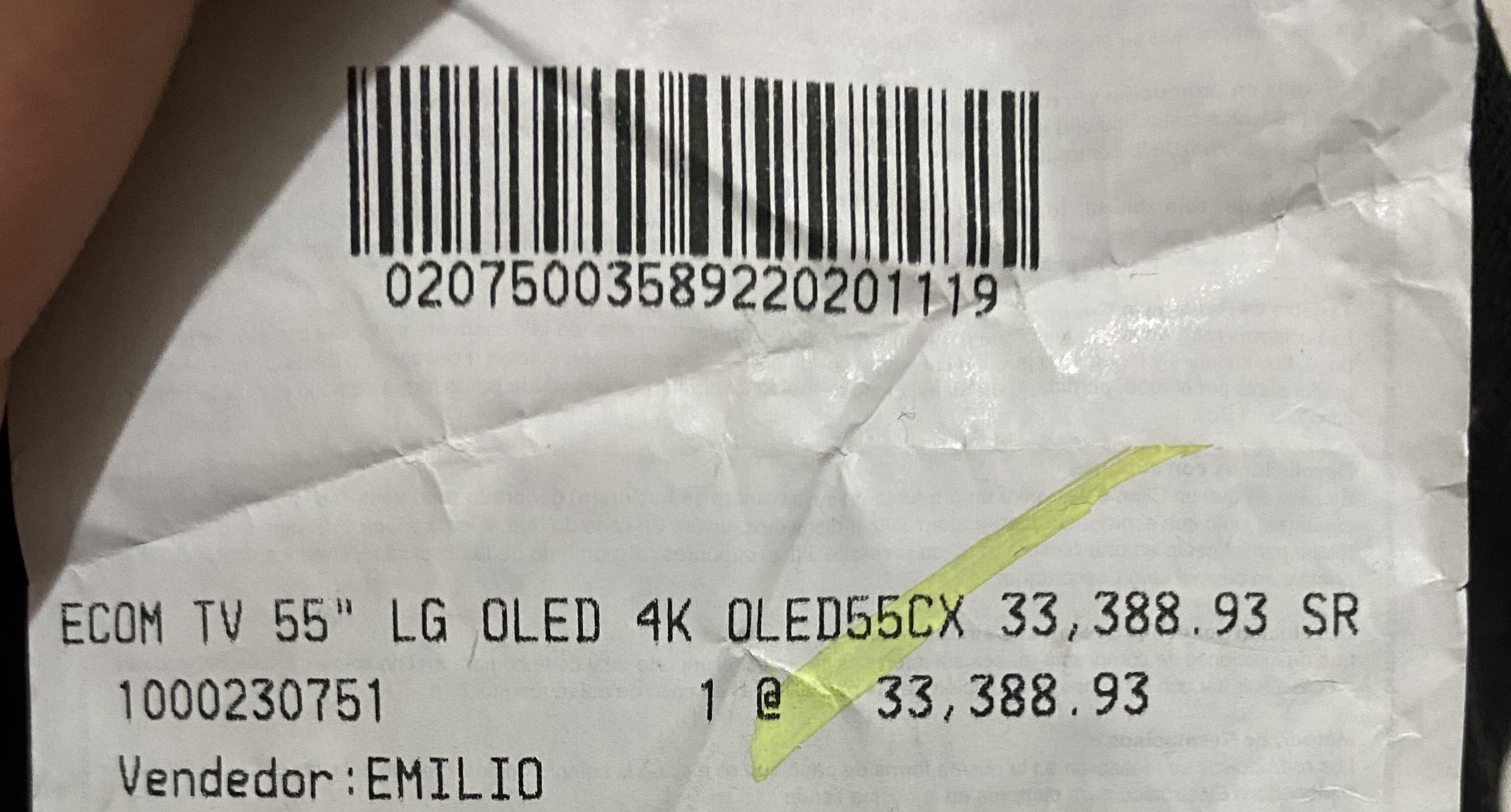 """Best Buy: LG OLED CX de 55"""""""