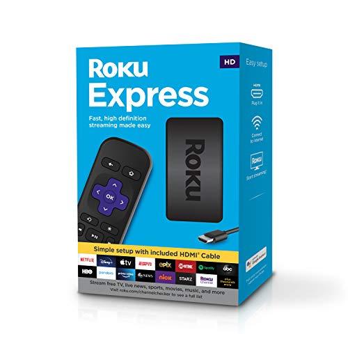 AMAZON: Roku Express HD Streaming Media Player ( Importado )