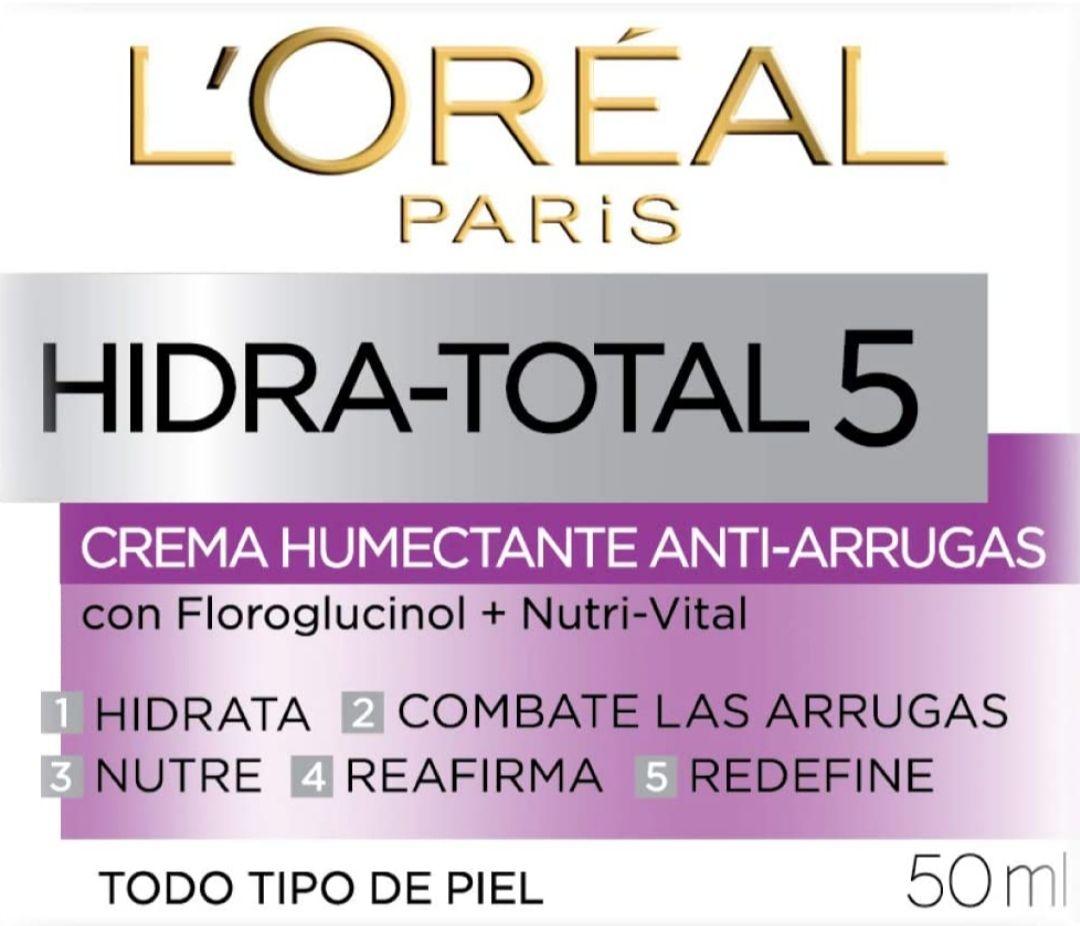 Amazon: Crema Antiarrugas L'Oreal Paris