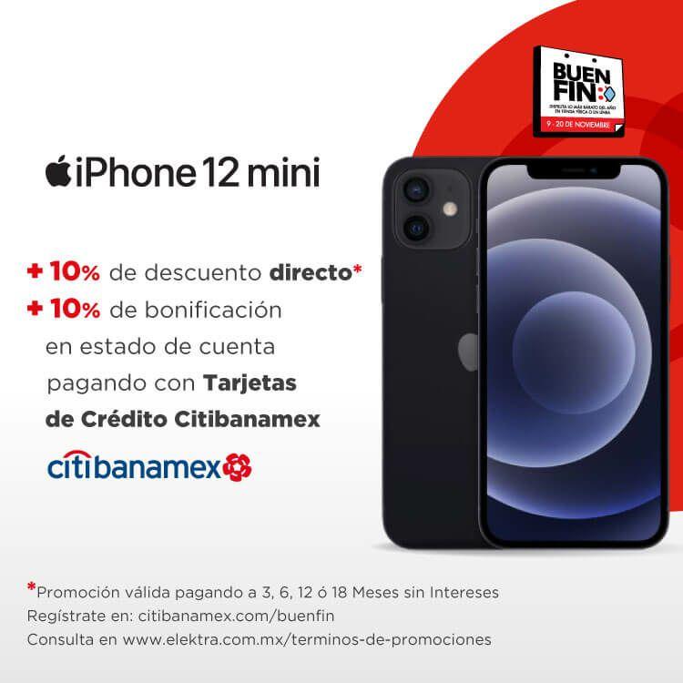 Elektra: iPhone 12 Mini pagando a MSI con Citibanamex