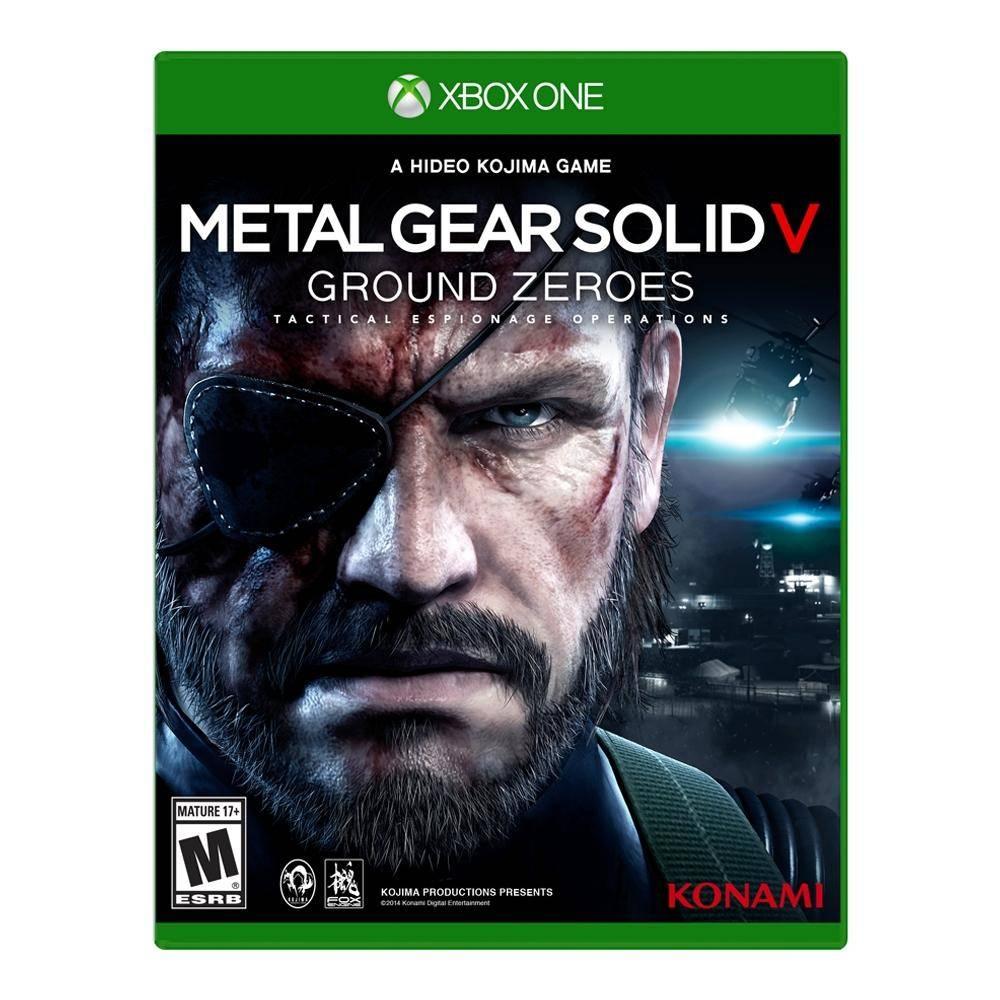 Walmart en línea: Metal Gear Solid V Ground Zeroes para Xbox One