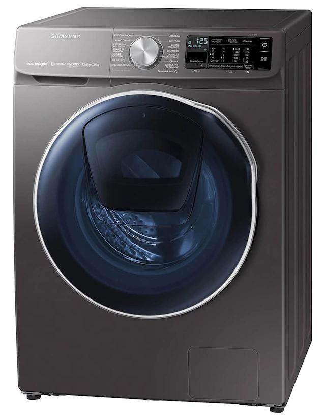 Liverpool: Lavasecadora Samsung 12 kg gris acero WD12N64FR2X/AX