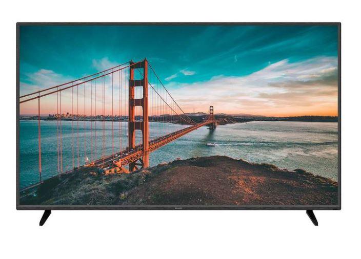 """COSTCO - Sharp Pantalla 60"""" Android TV 4K UHD LED Smart TV (CUPON+PAYPAL+HSBC)"""