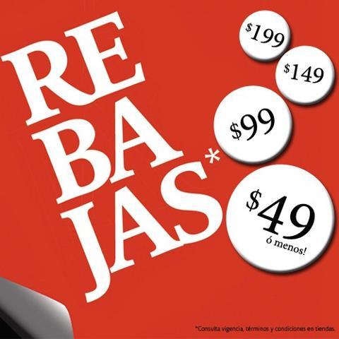 C&A: rebajas con artículos a $49, $99, $149 y $199