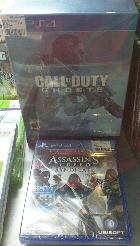 Walmart Cuemanco: Call of Duty Ghost edicion de coleccionista