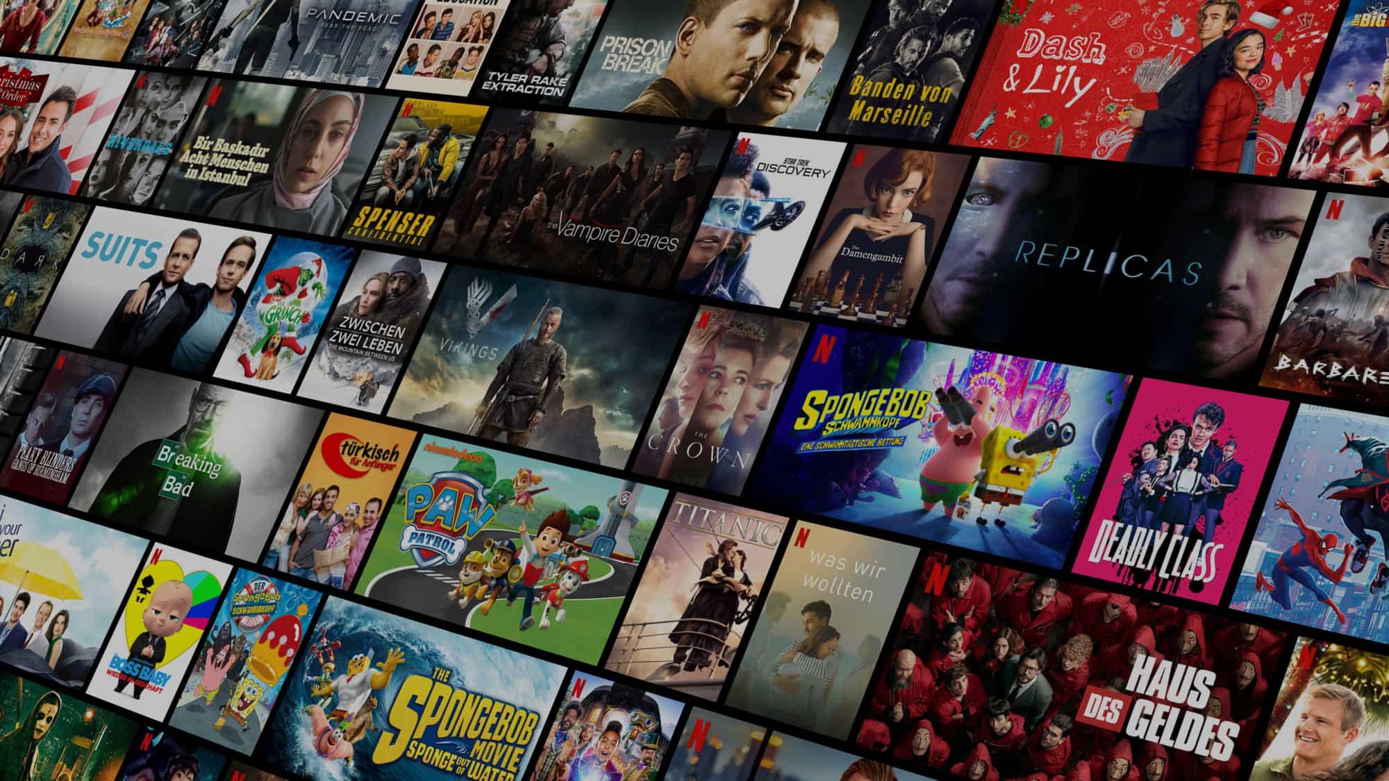 Prueba Netflix MX 30 días gratis - Usuarios nuevos