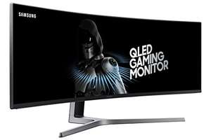 "Amazon: Samsung Monitor Gaming 49"" Super UltraWide QLED, Resolución 3840 x 1080, 144 Hz"