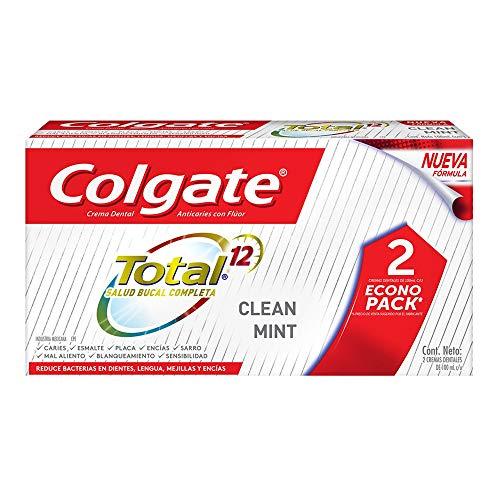 Amazon: Colgate Total 12 CLEAN MINT: Pasta de dientes. 2x100ml.