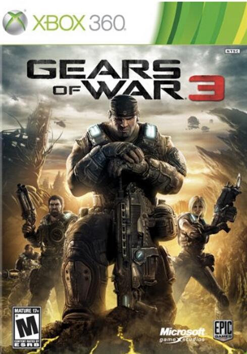 CDKEYS - GEARS OF WAR 3 XBOX