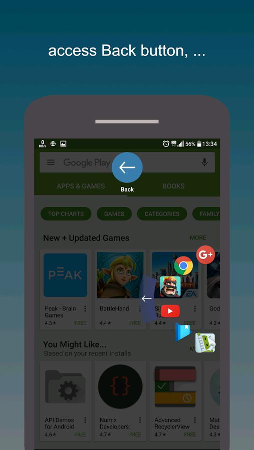 Google Play: Swiftly switch - Pro, App de acceso directo flotante para android al 50%!