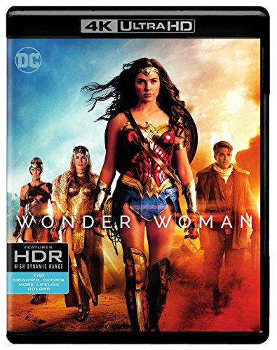Amazon: Mujer Maravilla Blu-ray 4K + Blu-ray +Digital
