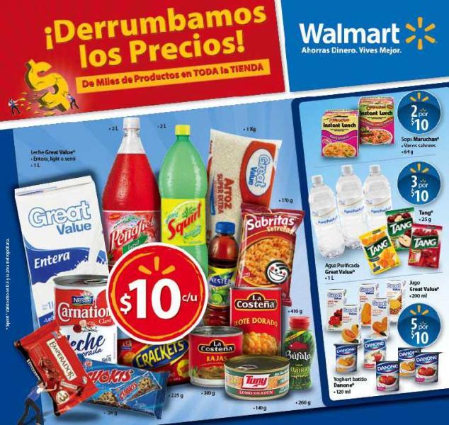 Folleto Walmart: ofertas en pantallas, cámaras, tequila, cervezas y más