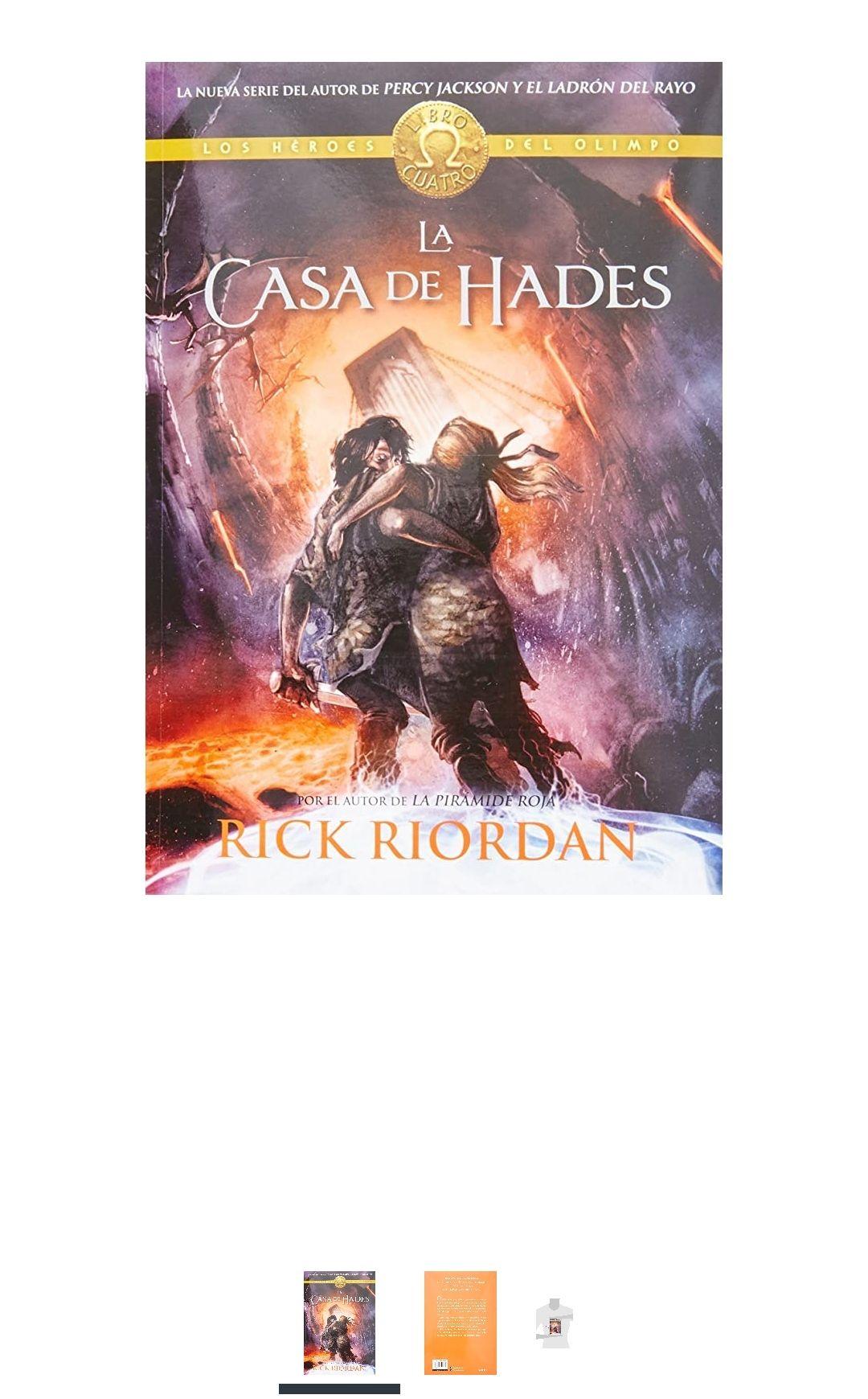 Amazon: La casa de Hades (Los héroes del Olimpo IV)