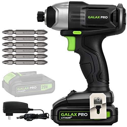 Amazon: Destornillador de impacto 20V GALAX PRO (precio al pagar y aplicando cupón)