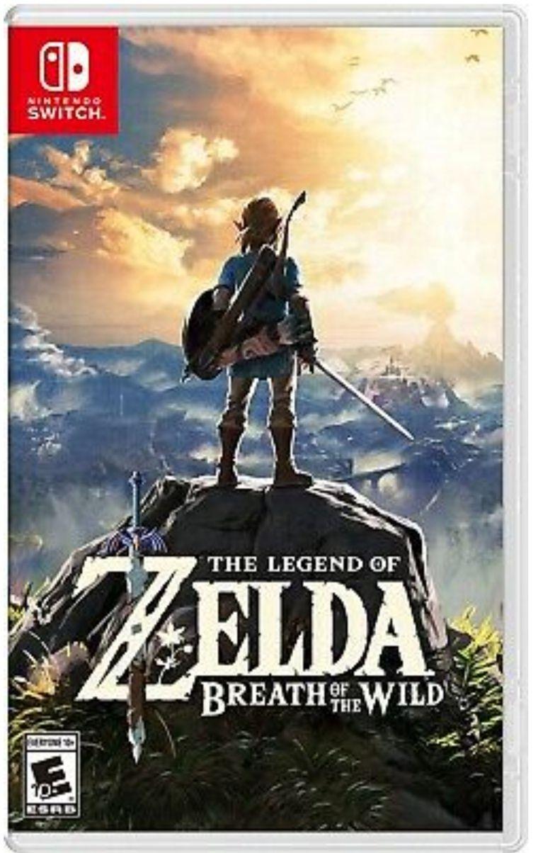 Game Planet : Zelda Breath Of The Wild para Nintendo Switch USADO