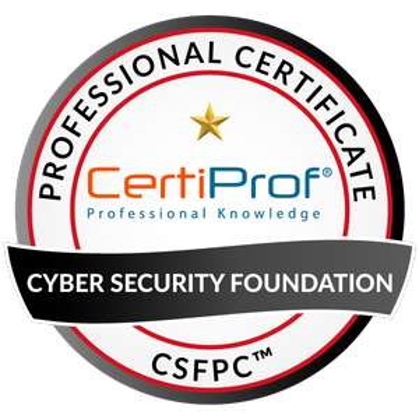 Certiprof: Certificación Cyber Security Foundation - CSFPC™. (INGLES)