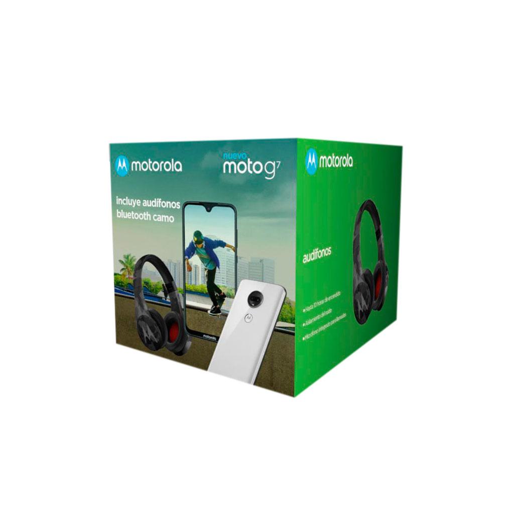 Soriana: Combo Motorola G7 + Audífonos Inalámbricos (Desbloqueado)