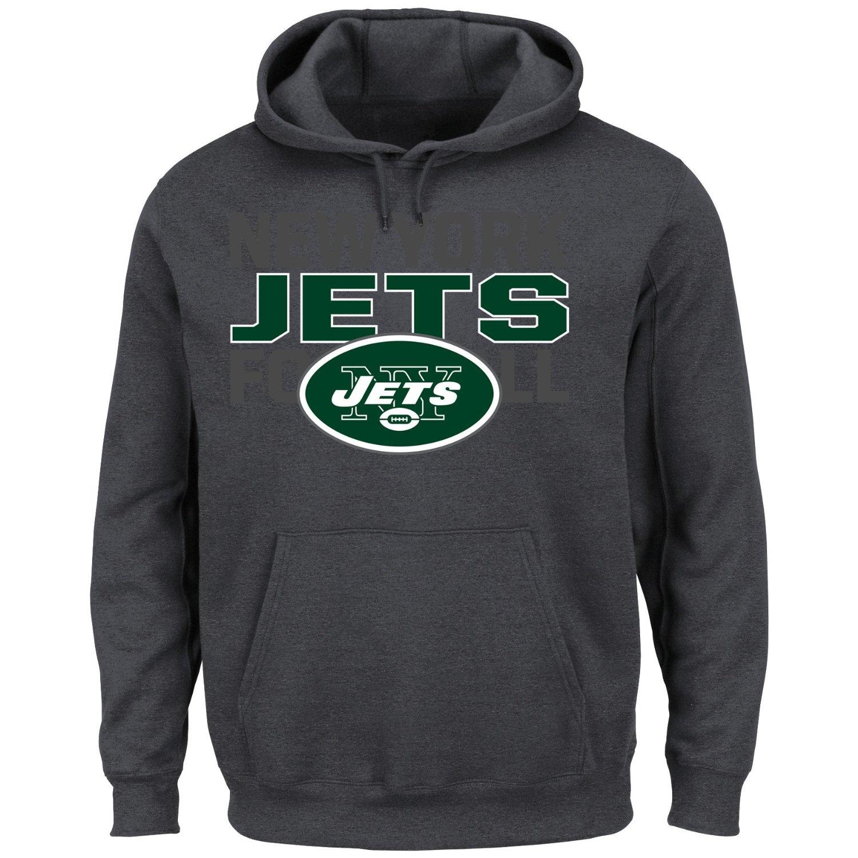 Amazon: sudadera New York Jets para hombre, talla chica