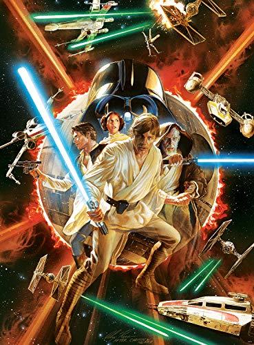 Amazon: Buffalo Games Star Wars™ Fine Art Collection - Puzzle de 1000 Piezas de Star Wars #1 Cómic Variante, 1000 Piezas