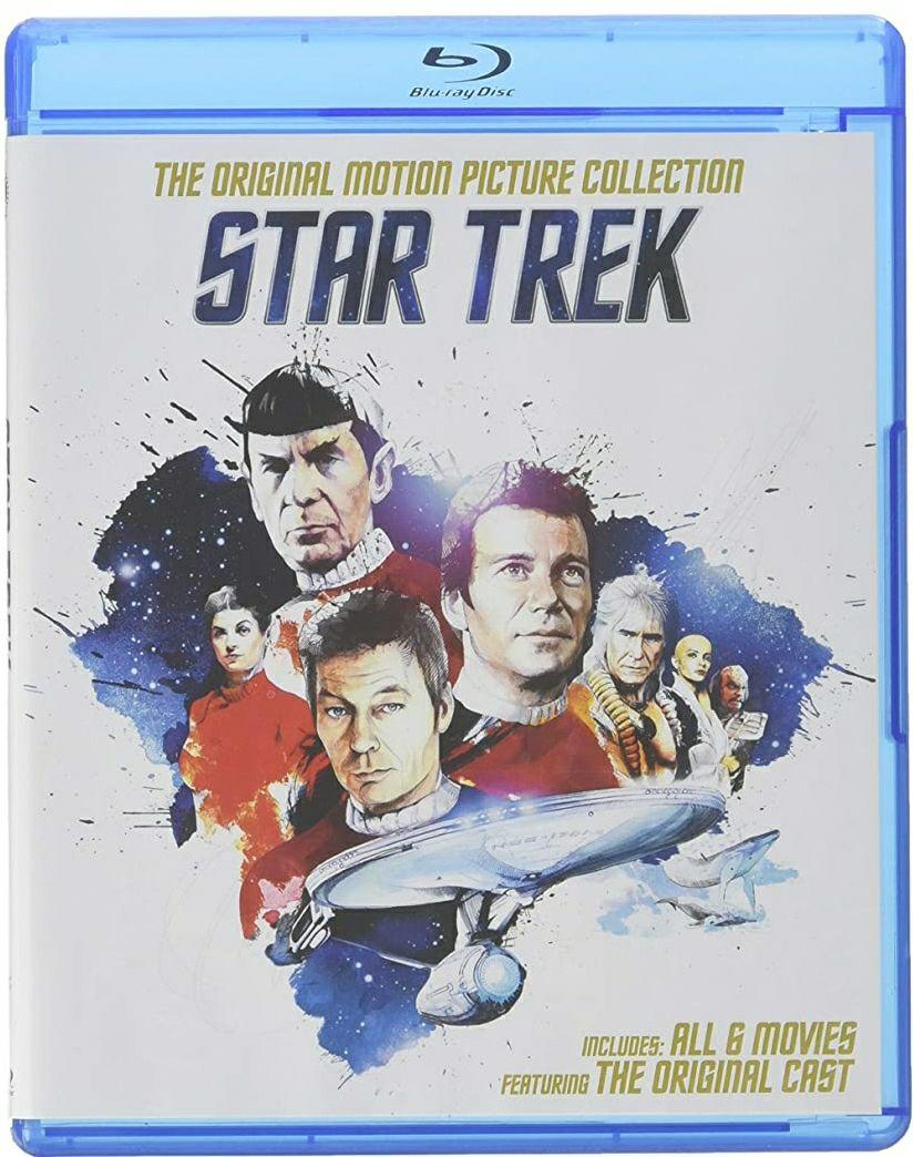 Amazon: Star Trek, Colección de 6 películas en blu ray