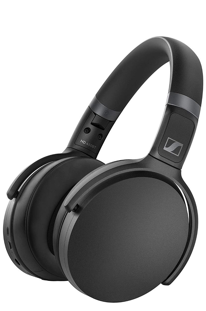 Amazon: Audífonos Sennheiser HD 450BT Black