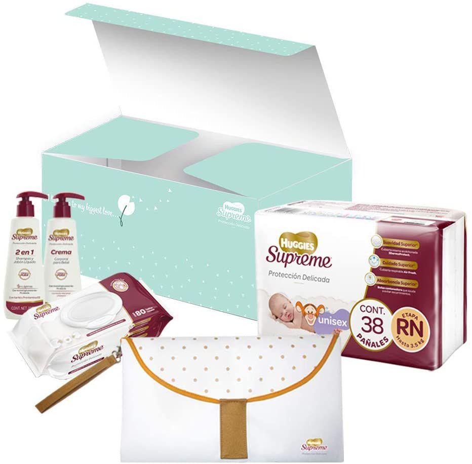 AMAZON: Kit para Recién Nacido Huggies Supreme