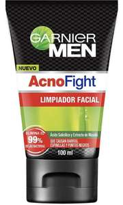 Amazon Limpiador facial 100 ml Acno Figth Garnier Men