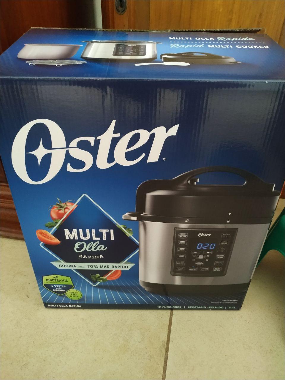 Chedraui: OSTER Instant Pot (olla de presión Y cocción lenta electrónica)