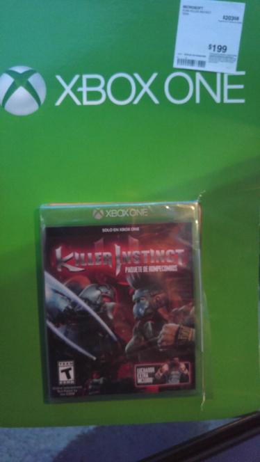 Sam's Club: Killer Instinct para Xbox One en $199