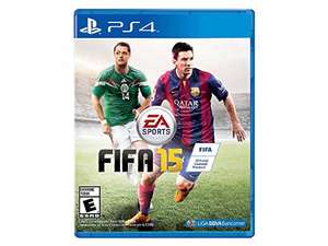 AMAZON MX: Fifa 15 para PS4 $154