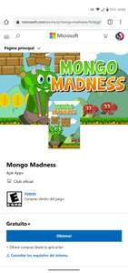 Microsoft Store: Juego Gratis Xbox One - Mongo Madness