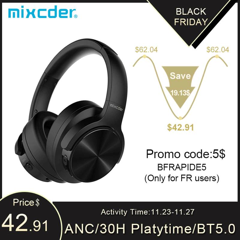 Aliexpress: Mixcder E9(Con paypal)