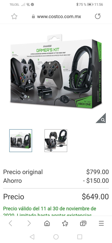 Kit xbox dreamgear en Costco