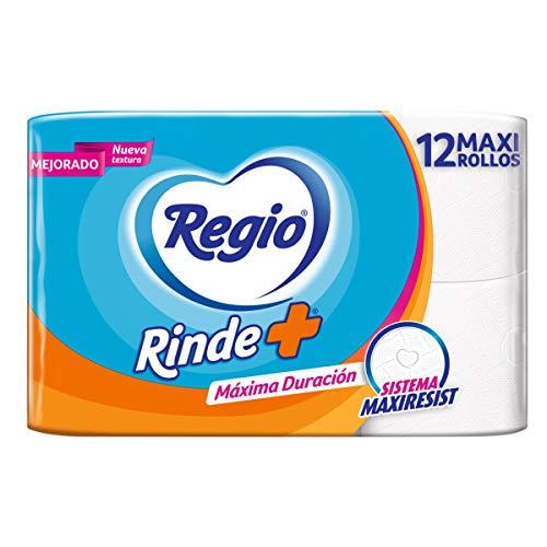 Amazon: 12 Rollos Regio Rinde Más Papel Higiénico,