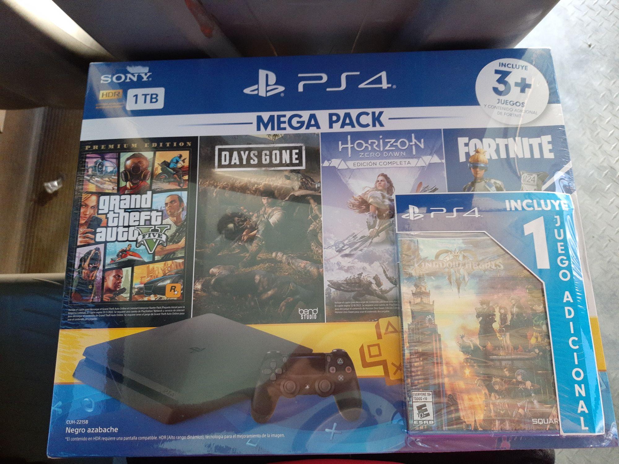 Bodega Aurrerá: consola PS4 hasta con un juego adicional