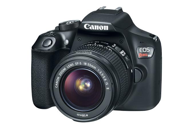 Sanborns en línea: Canon T6 con dos objetivos