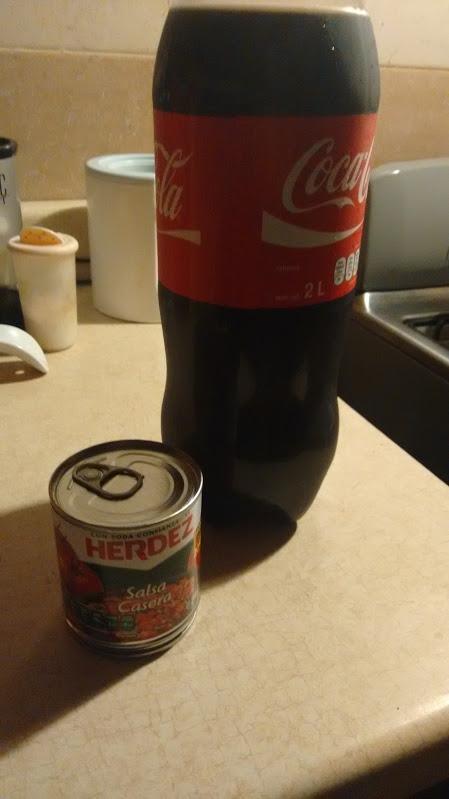 Oxxo Nacional: En la compra una Coca de 2lts o 2.5lts + 1 pesito te dan una Salsa Casera Herdez