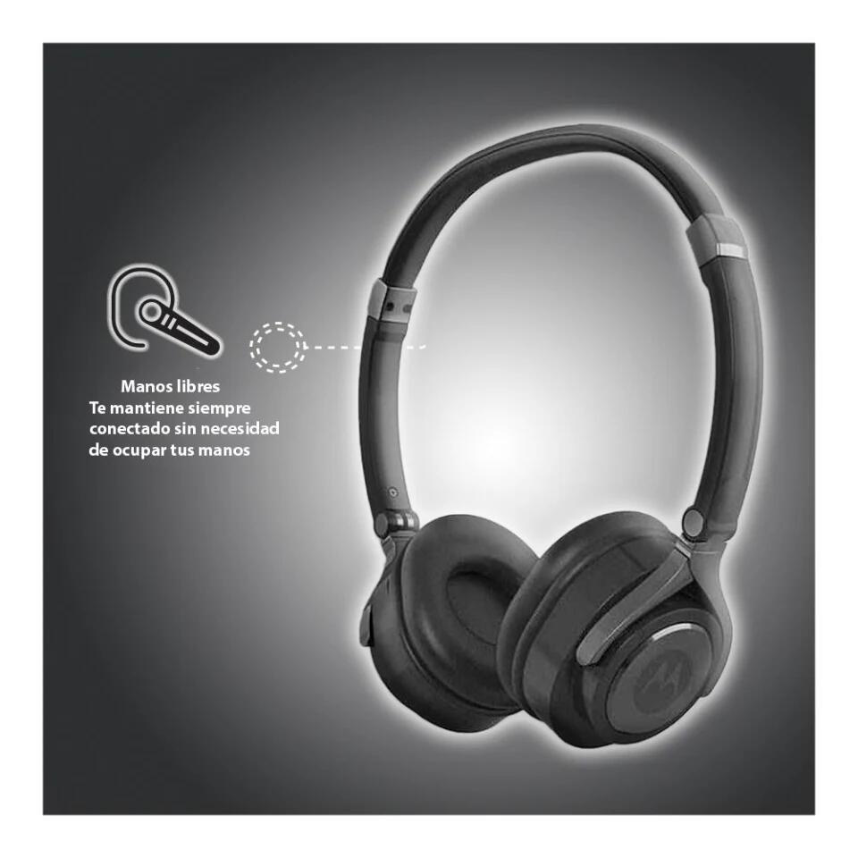 Bodega Aurrera: Audífonos On Ear Motorola Pulse 2 SH005 Negros