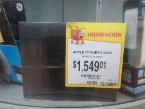 Walmart: Apple TV 4ta generación a $1,549.01