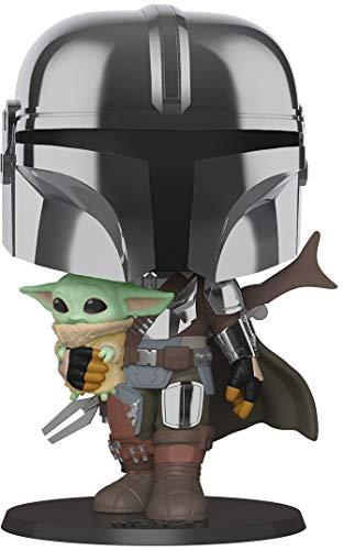 """Amazon: Funko The mandalorian con Baby Yoda de 10"""""""