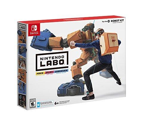 Amazon: NINTENDO LABO - ROBOT KIT para Nintendo Switch