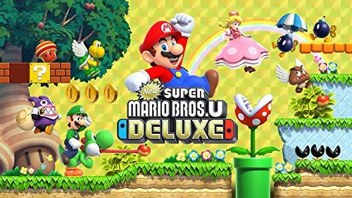 Amazon USA: New Super Mario Bros U Deluxe - Nintendo Switch [Digital Code]
