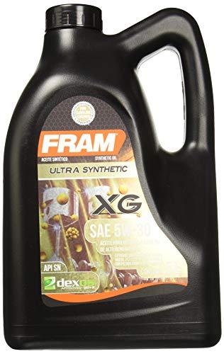 Amazon: Garrafa de 5 L aceite sintetico Fram 5W30