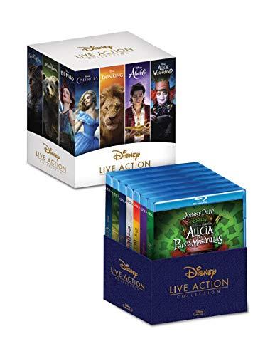 Amazon: Paquete Disney Clásicos Live Action (Blu Ray) [Blu-ray]