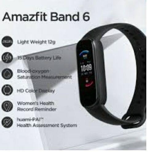 Amazon: Amazfit band 6 (alexa)