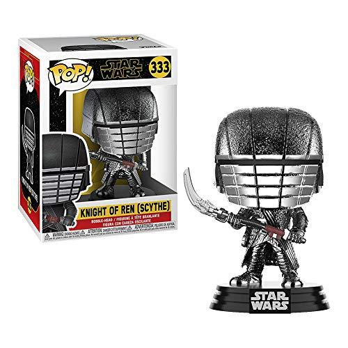 Amazon - Funko Pop! Star Wars: Rise of The Skywalker - Knights of REN Scythe (Hematite Chrome)