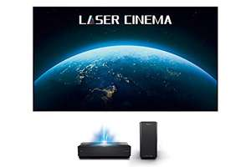 "Amazon: Proyector Hisense Laser TV 4k UHD incluye pantalla de 100"""
