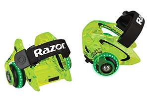 Amazon: Razor Jetts DLX Heel Wheels, Neon Green