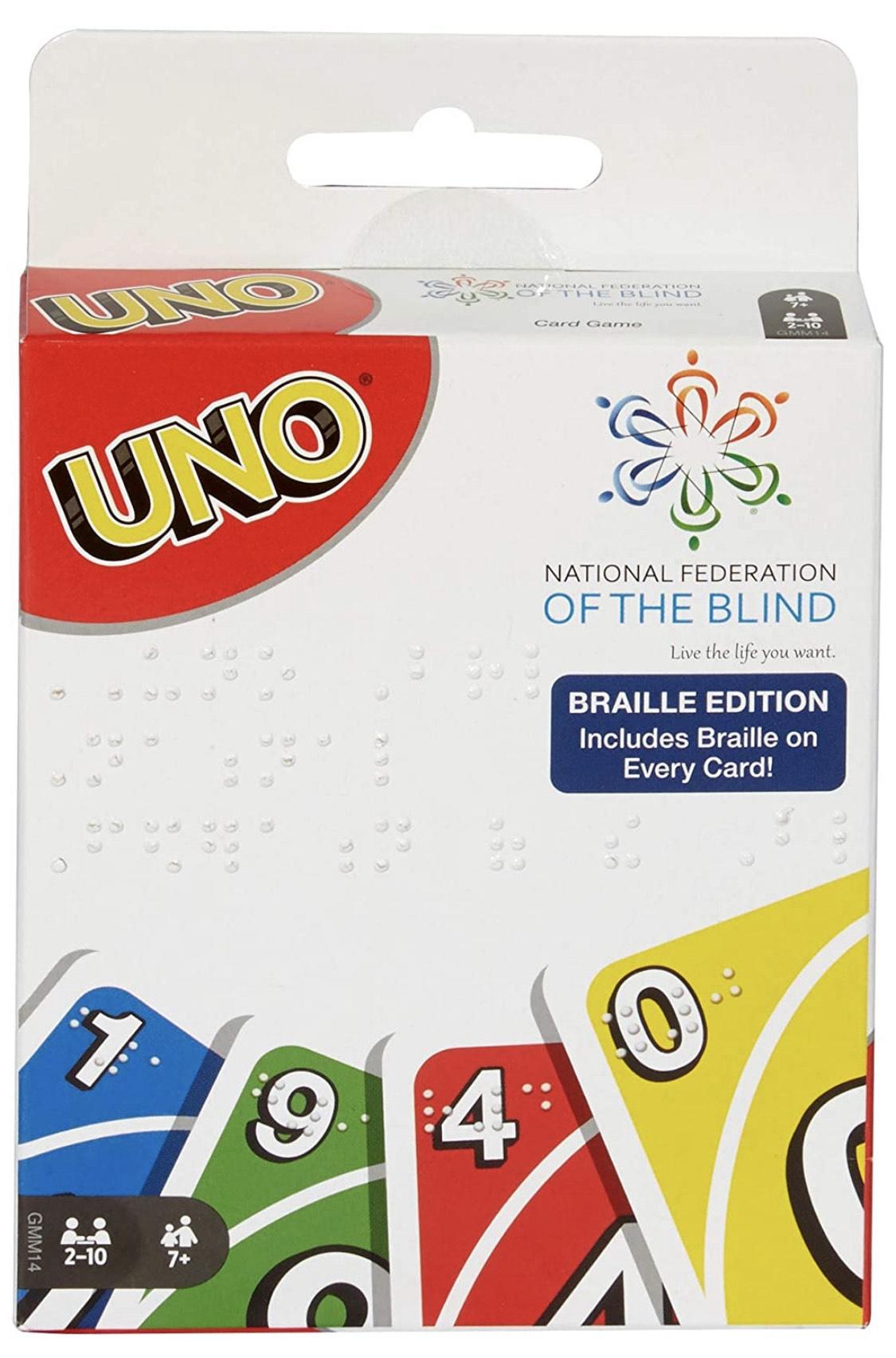 Amazon UNO Braille